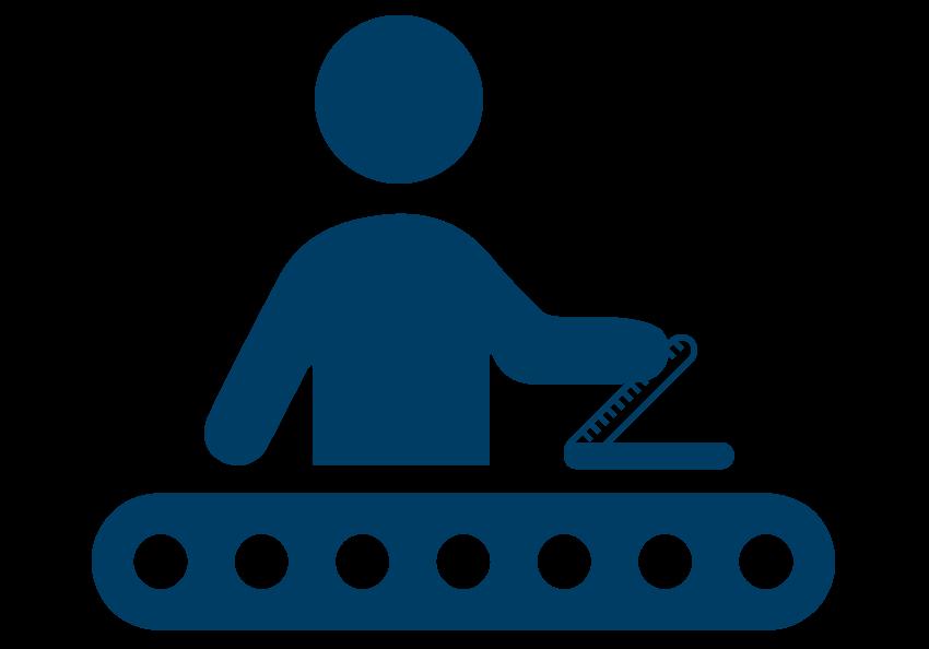 Bauer Maßstabfabrik - Hersteller von Zollstöcken und Messwerkzeugen - Herstellung