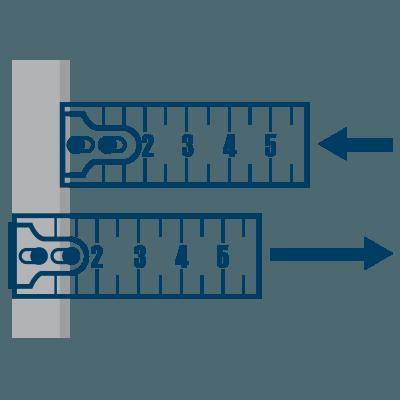 Bauer Maßstabfabrik - Hersteller von Zollstöcken und Messwerkzeugen - Beweglicher Haken