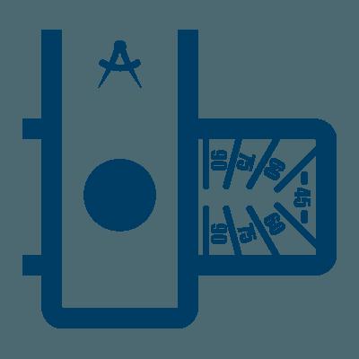 Bauer Maßstabfabrik - Hersteller von Zollstöcken und Messwerkzeugen - Gradeinteilung