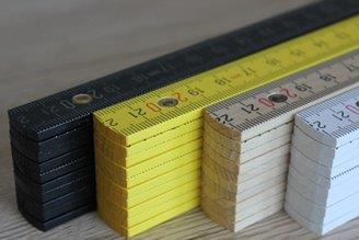 Buchenholz mit innenliegenden Polyamidgelenken und Winkelgradanzeige - perfekt für vollflächige Drucke