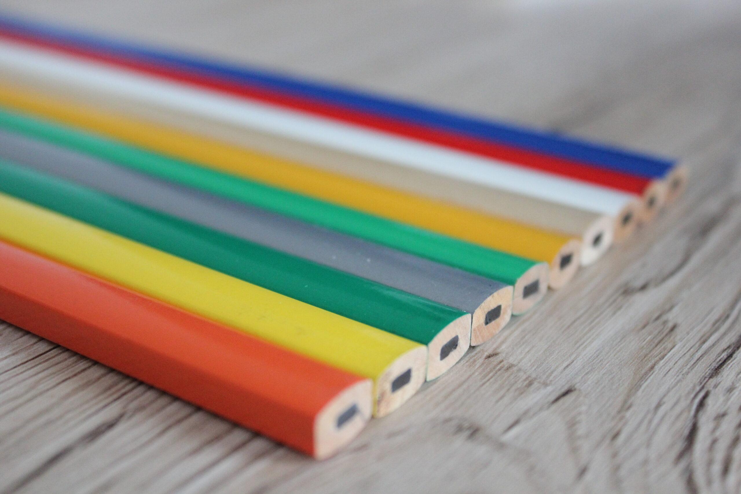 Der universelle Baustift fürs Handwerk - günstig und in vielen gängigen Farben