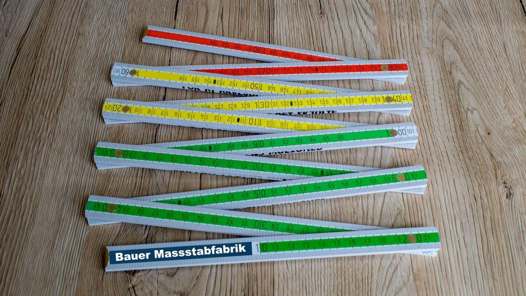 Bauer Maßstabfabrik - Hersteller von Zollstöcken und Messwerkzeugen - Bauma Exklusiv Service