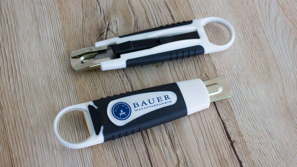 Bauer Maßstabfabrik - Hersteller von Zollstöcken und Messwerkzeugen - Handwerkermesser