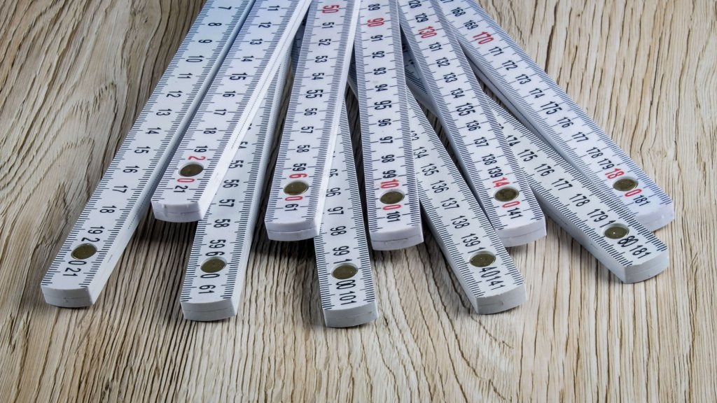Bauer Maßstabfabrik - Hersteller von Zollstöcken und Messwerkzeugen - Zollstock B820