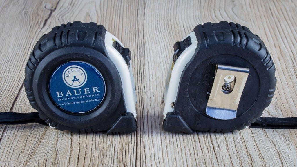 Bauer Maßstabfabrik - Hersteller von Zollstöcken und Messwerkzeugen - Rollbandmaße Profi Plus