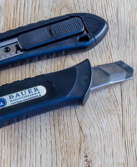 Bauer Maßstabfabrik - Hersteller von Zollstöcken und Messwerkzeugen - Cuttermesser CM9200