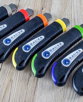 Bauer Maßstabfabrik - Hersteller von Zollstöcken und Messwerkzeugen - Cuttermesser