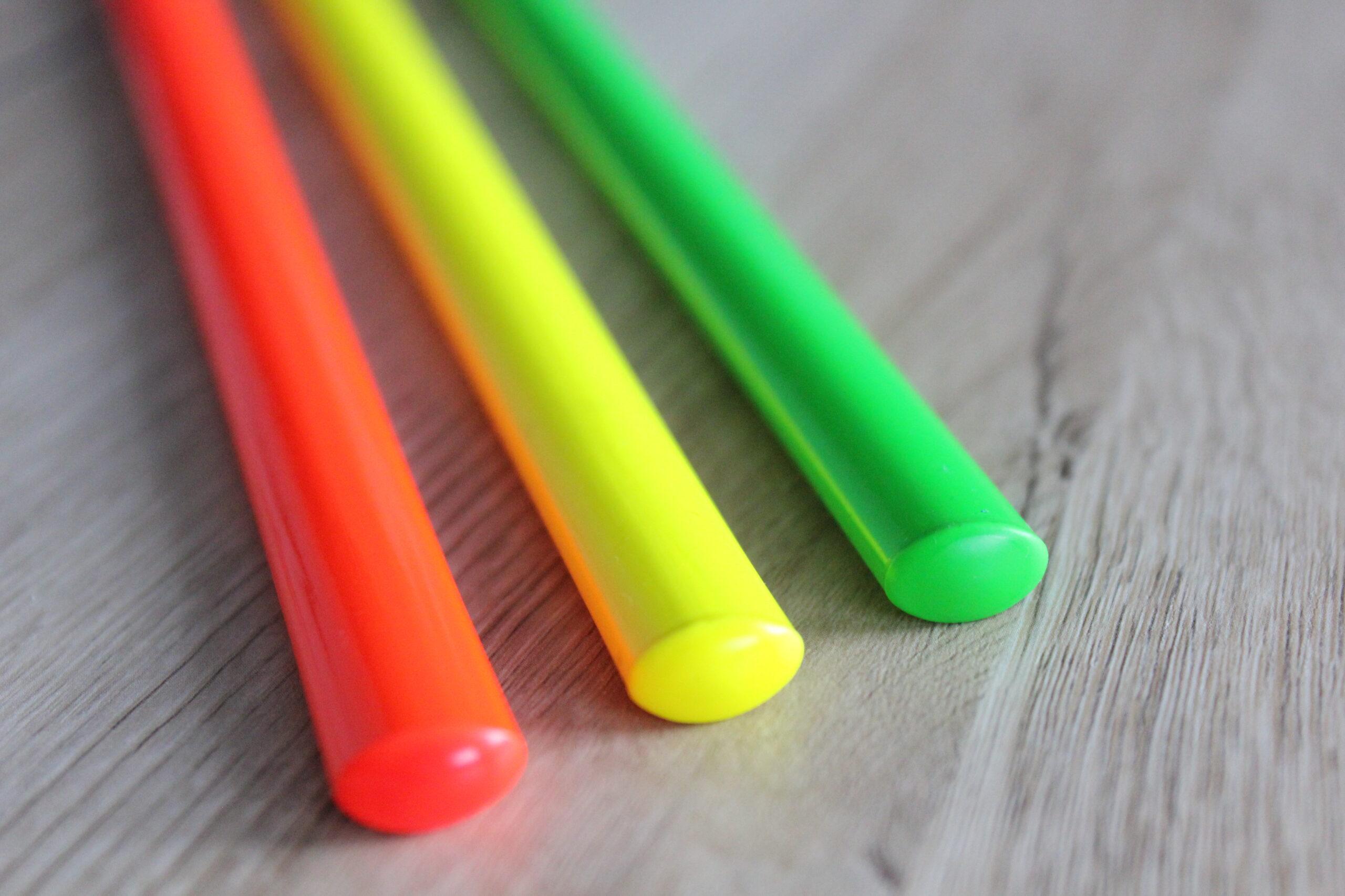 Auffallend - Exklusiv - NEU!  Zollstöcke und Baustifte in Neonfarben