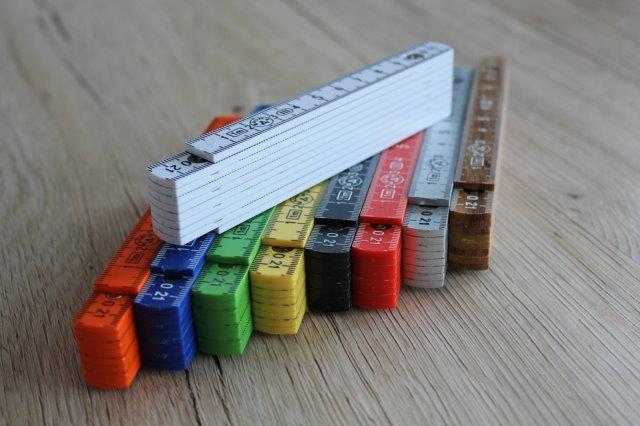 1m Kunststoff in verschiedenen Farben