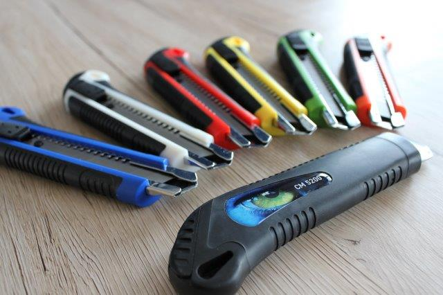 Scharf – Schärfer - Cuttermesser von BAUMA